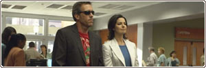 Hugh Laurie e Sela Ward