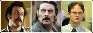My Name is Earl, Deadwood e The Office