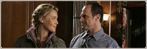 Connie Nielsen  e Chris Meloni
