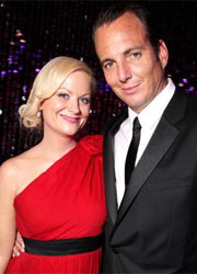 Amy Poehler e Will Arnett