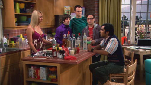 The Big Bang Theory - The Grasshopper Experiment