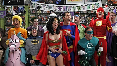 The Big Bang Theory - The Justice League Recombination