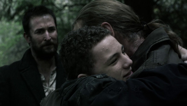 Falling Skies 4x04 Tom, Matt e Weaver