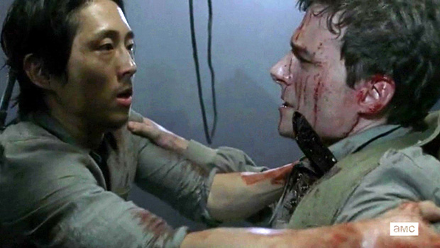The Walking Dead 5x14 Glenn
